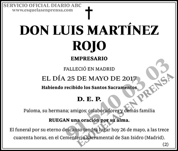 Luis Martínez Rojo